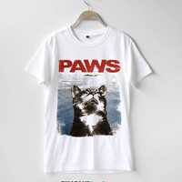 Cat Paws Jaws Shirt TShirt T-Shirt T Shirt Tee