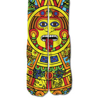 Totem Pole Socks