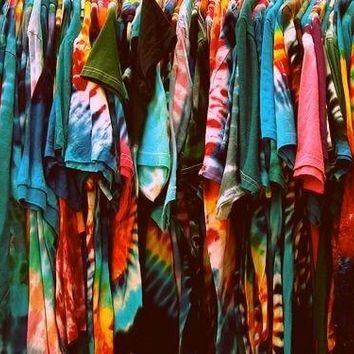 Mystery Vintage Inspired Tie Dye Tee Shirts, All sizes So COOL!!