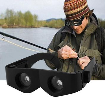 DCCKL72 Fishing Portable Glass Style Black Telescope & Magnifier For Fishing Hiking Binoculars new arrival