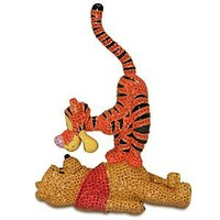 Winnie the Pooh and Tigger Figurine by Arribas Brothers | Disney Store