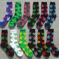 4:20 Marijuana Style Weed Socks For All
