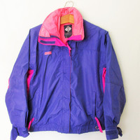 Vintage 1990s Neon Colombia Lightweight Bugaboo Jacket