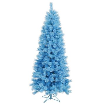 2' Pre-Lit Antique Gold Pencil Artificial Tinsel Christmas Tree Clear Lights