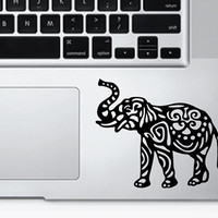 Mini Elephant Laptop Decal