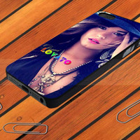 Demi Lovato Hut Style for iPhone 4/4S case iPhone 5 case Samsung Galaxy S2/S3/S4 case hard case