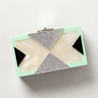 Mother-of-Pearl Box Clutch
