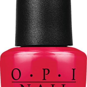 OPI Nail Lacquer - Danke-Shiny Red 0.5 oz - #NLG14