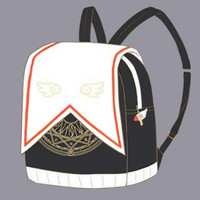 Kawaii Lolita Bag Sailor Moon Cardcaptor Sakura Magical Girl Clow Card Backpack Cute School Bags For Teenager Girls Book Bag