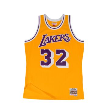 Mitchell & Ness LA Lakers Magic Johnson 1984-85 Swingman Jersey
