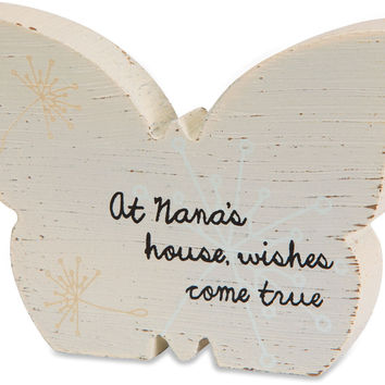 At Nana's house wishes come true Plaque