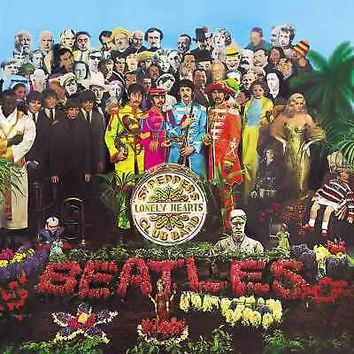 The Beatles Sgt Pepper's Lonely Hearts Club Band 2LP 50th Anniversary 180g Vinyl