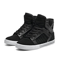 SKYTOP BLACK CROC - WHITE