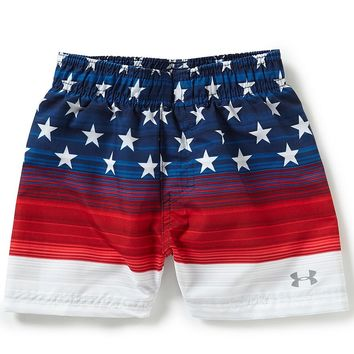 Under Armour Baby Boys 12-24 Months Americana Swim Trunks | Dillards