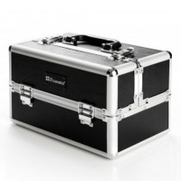 Makeup Train Case (black): Secure & Store Make Up | BH Cosmetics!