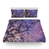 KESS InHouse Skies by Alison Coxon Light Cotton Duvet Cover