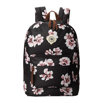 Obey Outsider Backpack Black Floral - Zappos.com Free Shipping BOTH Ways