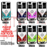 VW Bus Collection - iPhone 4/4s/5 Case - Samsung Galaxy S3/S4 Case - Black or White