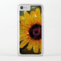 Peacefully Simple Clear iPhone Case by Jveart