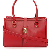 Pretty Persuasive Red Handbag