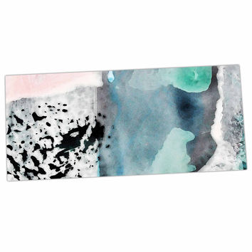 "Iris Lehnhardt ""Abstract Color"" Pastel Painting Desk Mat"