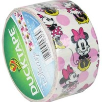 Duck Brand 281968 Disney-Licensed Minnie Mouse Printed Duct Tape, 1.88 Inches x 10 Yards, Single Roll