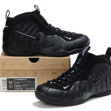 Nike Air Foamposite Pro Black Sneaker Size Us8 13