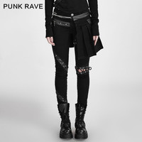 Aliexpress.com : Buy Punk rave Fashion Casual Novelty Party Rock Gothic Style Black Women Sexy Removable Skirt Pants K255 from Reliable skirt pants suppliers on Punk Rave Store