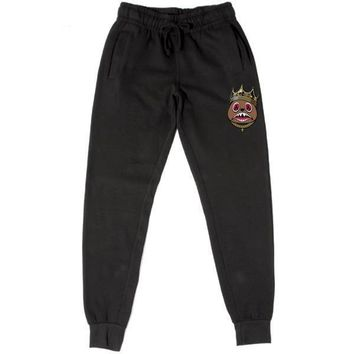 EAST BAWS Black French Terry Joggers