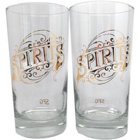 12 oz. Drinking Glasses Spirits