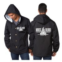 Campfire Black Windbreaker : NSR0 : MerchNOW - Your Favorite Band Merch, Music and More