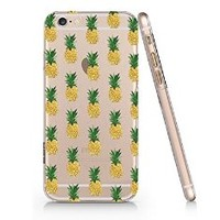 Pineapples Slim Pattern Iphone 6 Case, Clear Iphone 6 Hard Cover Case (For Apple Iphone 6 4.7 Inch Screen)-Emerishop (AH884) (AH889)