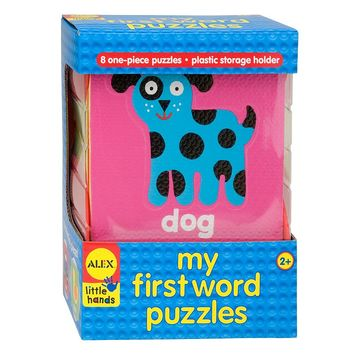 Alex Little Hands My First Word Puzzles