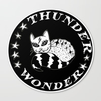 Wonder Thunder Cat Canvas Print by Shashira Handmaker