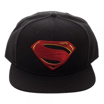 Core Line Superman Icon Embroidered Snapback Hat