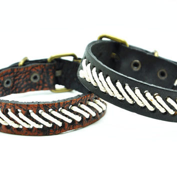 fashion Adjustable leather Woven Bracelets mens bracelet cool bracelet jewelry bracelet bangle bracelet cuff bracelet 2682S