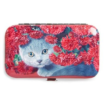 Catseye London 'Cat Flowers' Nail Care Kit - Cat Flowers Red
