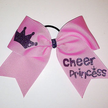 Cheer Princess Cheer Bow