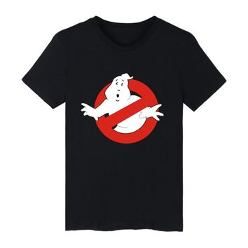 LUCKYFRIDAYF 2017 Ghostbusters Movie Cotton T-shirt Men Short Sleeve funny T Shirts Ghost Busters Tee Shirts men clothing