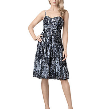 Js Collections Graphic Print Ribbon Dress