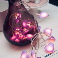 Heart Bulb 20pcs String Light
