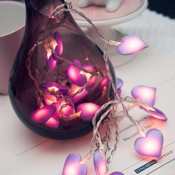 Heart Bulb 20PC String Light