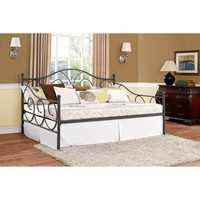 Victoria Full Size Metal Daybed, Multiple Colors - Walmart.com