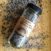SAGE + QUARTZ SALT Soak Herbal Botanical Bath