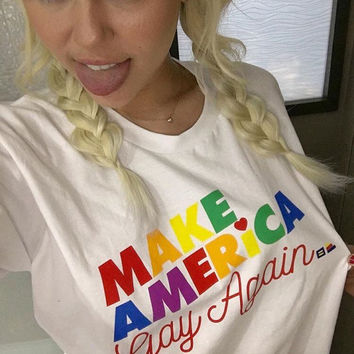 Make American Gay again shirt