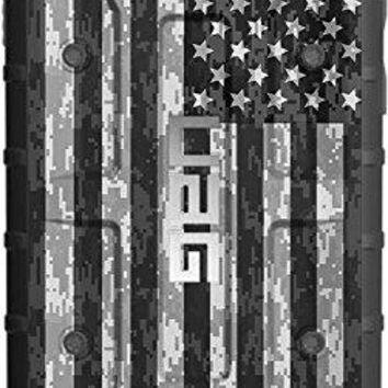 """LIMITED EDITION - Authentic UAG- Urban Armor Gear Case for Apple iPhone 8/7/6/6s (Standard 4.7"""") Custom by EGO Tactical- USA Subdued Digital Camouflage Flag"""