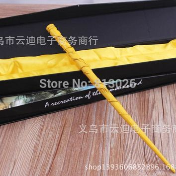 Harry Potter Hermione Magical Wand 38cm Action Figures PVC brinquedos Collection Figures toys with Retail box