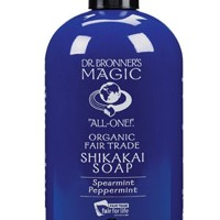 Dr. Bronner's Magic Soaps Organic Body Soap Spearmint Peppermint 24