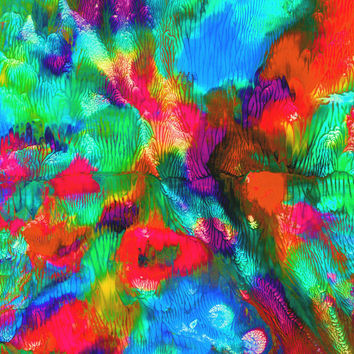 Wall Art - No. 235B - Giclee Print - Acrylics - Multiple Colors - Original Art - Abstract - Varied Size - One Only
