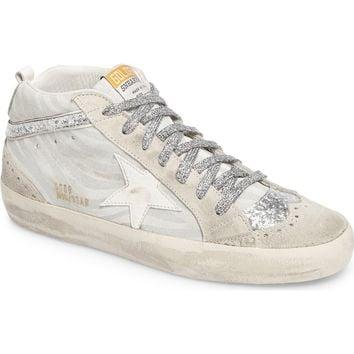 Golden Goose Star Mid Top Sneaker (Women) | Nordstrom
